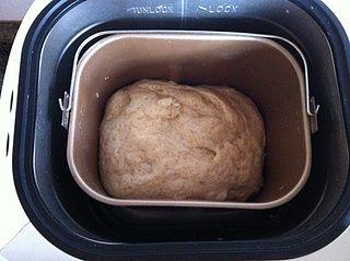 全麦橄榄油面包的做法步骤:4