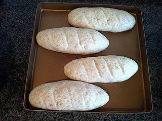 全麦橄榄油面包的做法步骤:9