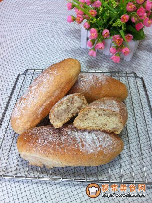 全麦橄榄油面包的做法