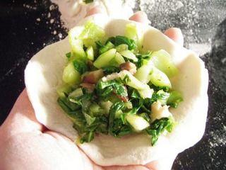 【菜谱换礼2】香菇青菜包的做法步骤:12