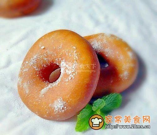 传统甜甜圈的做法