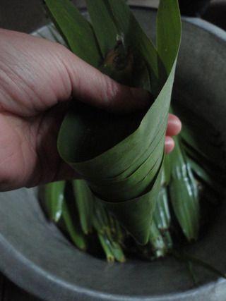 包粽子的做法步骤:4
