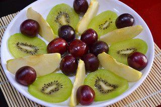 简易水果拼盘的做法