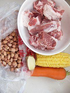 【冬季养生菜】润肺滋阴—胡萝卜花生炖排骨浓汤的做法步骤:1