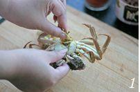 香辣蟹的做法步骤:1