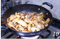 香辣蟹的做法步骤:10