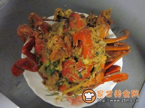 新加坡香辣蟹的做法