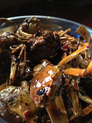 焖锅香辣蟹的做法步骤:9