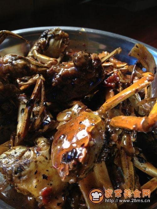 焖锅香辣蟹的做法