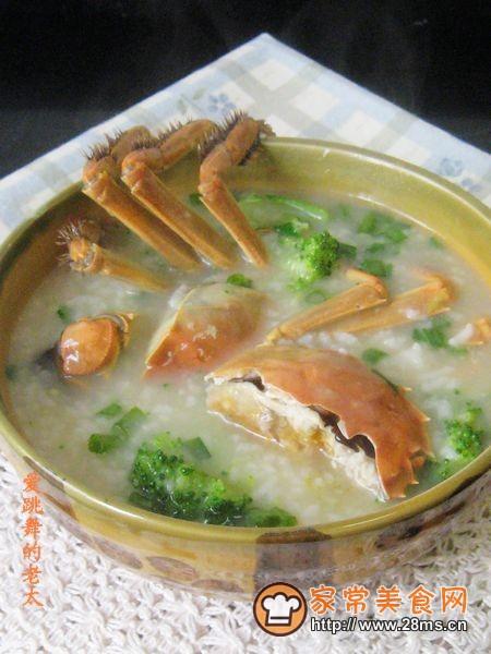 做法西兰花粥的河蟹怎样腌海带图片