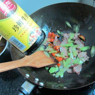 莴笋叉烧肉的做法步骤:8