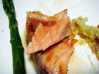 柠香煎三文鱼的做法步骤:13