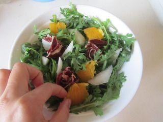 火腿茼蒿水果酸奶沙拉的做法步骤:5
