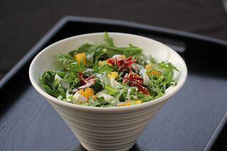 火腿茼蒿水果酸奶沙拉的做法步骤:9