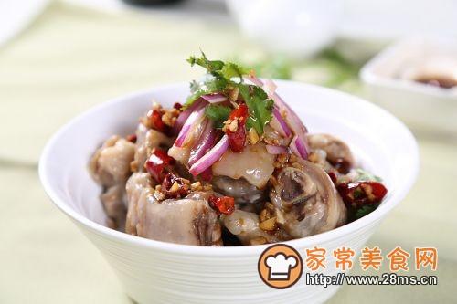 凉拌猪蹄―自动烹饪锅食谱的做法