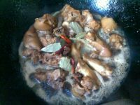 红烧猪蹄的做法步骤:14