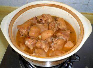 泡椒红烧猪蹄的做法步骤:10