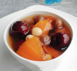 红枣桂圆木瓜汤的做法步骤:7