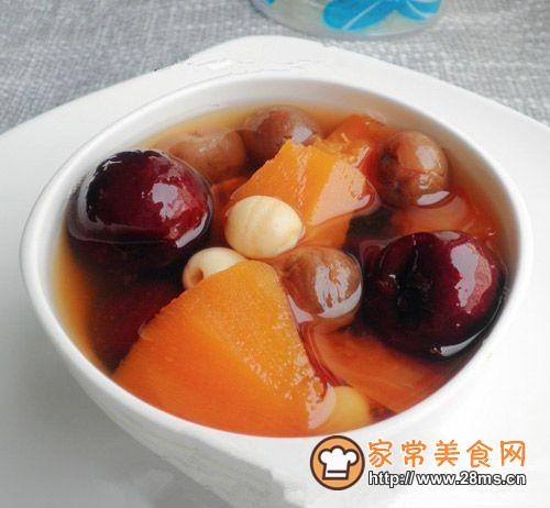 红枣桂圆木瓜汤的做法