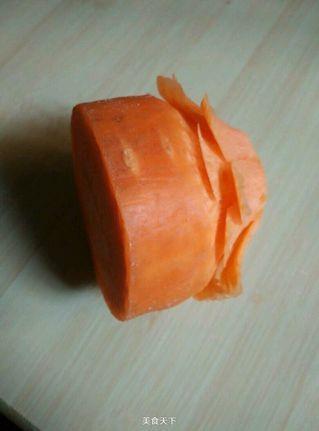原创 雕刻萝卜花