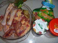 脆皮果酱烤鸡的做法步骤:1