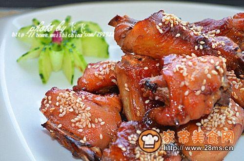 脆皮果酱烤鸡的做法