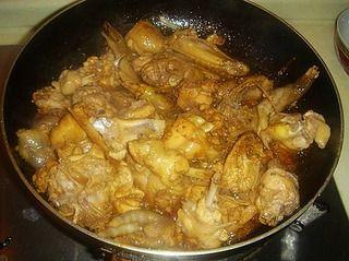 酱爆仔鸡的做法步骤:5