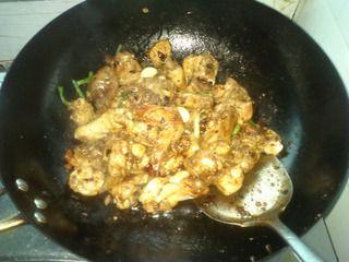 毛豆烧鸡块的做法步骤:5