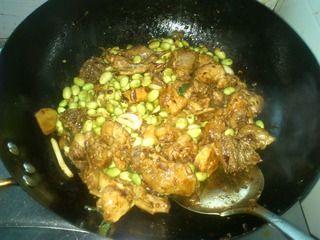 毛豆烧鸡块的做法步骤:6