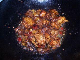 红烧仔鸡的做法步骤:3