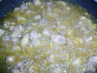 歌乐山辣子鸡的做法步骤:4