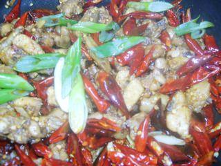 歌乐山辣子鸡的做法步骤:7