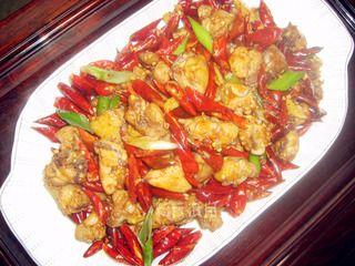 歌乐山辣子鸡的做法步骤:8