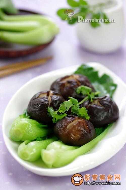 苏式家常菜 —— 浓香醇厚的卤香菇的做法