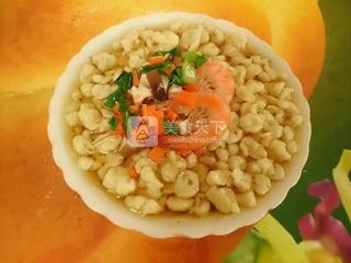 大虾珍珠疙瘩汤的做法步骤:13