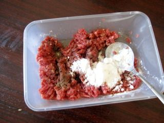 奶香味诱惑—肉酱焗茄子的做法步骤:3