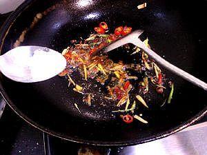 酸辣魔芋豆腐的做法