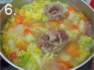西式牛尾汤的做法步骤:6