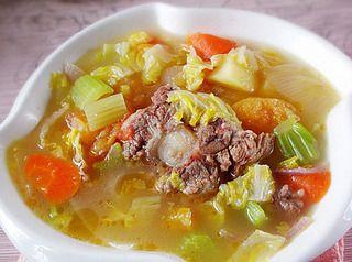 西式牛尾汤的做法步骤:7