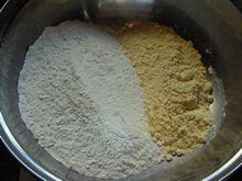 碟中花—玉米面蒸饺的做法步骤:1