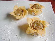 碟中花—玉米面蒸饺的做法步骤:14