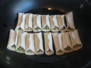 芹菜肉馅煎饺的做法步骤:6
