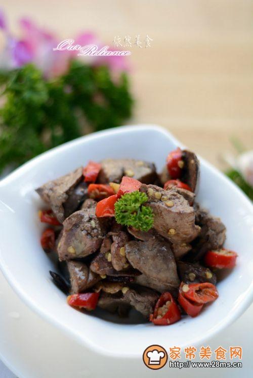 【香辣鸭肝】---补血明目的最佳菜肴的做法