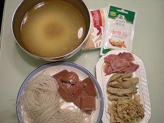 苏菜―鸭血粉丝汤的做法步骤:1