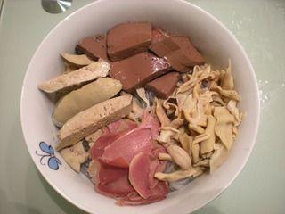 苏菜―鸭血粉丝汤的做法步骤:5