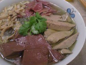 苏菜―鸭血粉丝汤的做法步骤:6