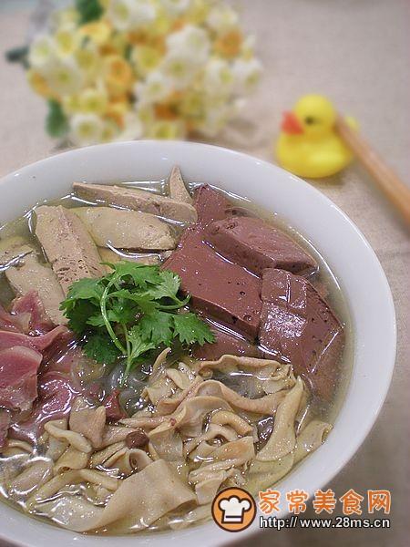 苏菜―鸭血粉丝汤的做法