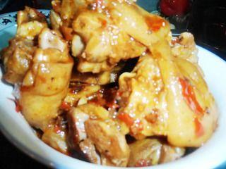 家中的年夜菜:一红烧猪蹄的做法步骤:8