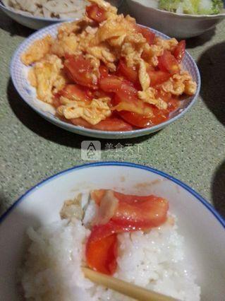 番茄炒蛋的做法步骤:4
