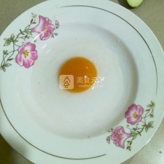 鸭蛋茄饼的做法步骤:6